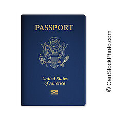 U.S. Passport with Microchip - United States of America...