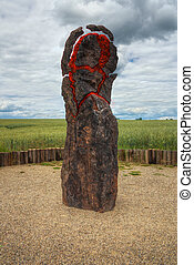 exploding menhir - menhir exploding - Earth energy - Forces...