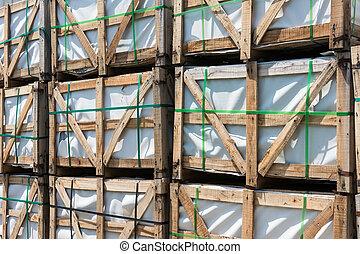 construção,  Pallets