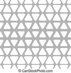 Geometrical seamless pattern - Geometrical black and white...
