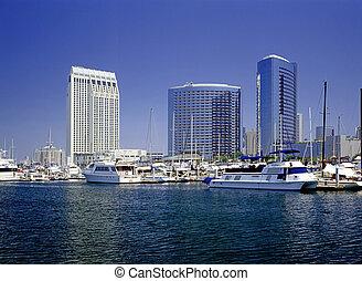 Emarcadero Marina, San Diego