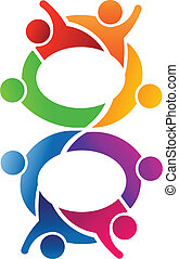 Number 8 Teamwork logo - Number 8 Teamwork Concept for...