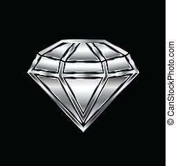 Diamond image. Concept of luxury
