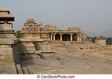 Ruins in Hampi, India