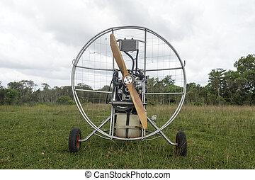 motor, Paramotor