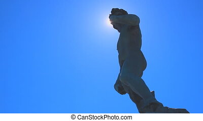 david michelangelo blue sky - david michelangelo sculpture...