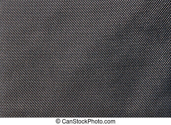 Gray canvas background close-up