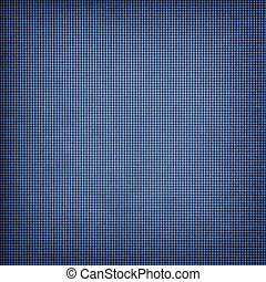 Weathered blue checkered background - Weathered blue...