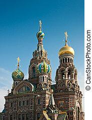 Savior on Blood Cathedral in St Petersburg - Savior on...