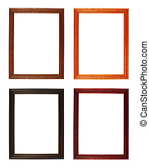 A4 size photo frame isolated - A4 size empty copyspace photo...
