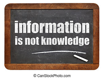 information is not knowledge quote - a quote from Albert...