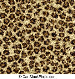 Leopard fur - Pattern of leopard fur