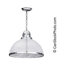 Hanging lamp isolated on a white background.
