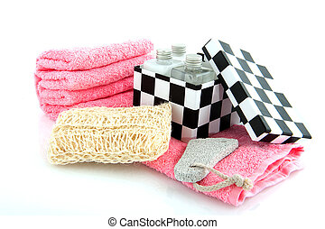 scrubbing set for ladies