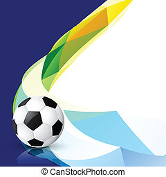 stylish football design
