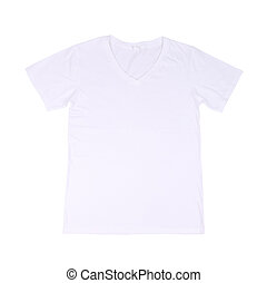 t-shirt template - white t-shirt template front side on...