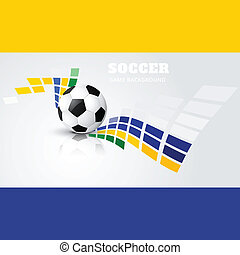 soccer game design vector - soccer game vector design...