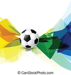 colorful football design