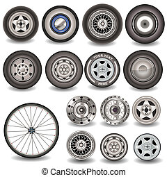 Collection of tires - Great collection of different tires,...