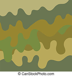Camouflage Background Pattern - Military camouflage...