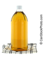 Filtered Apple Cider Vinegar - A bottle of filtered Apple...