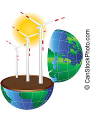 wind turbine in the world