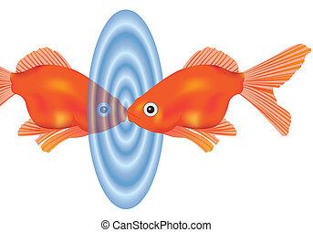 Cliparts et illustrations de poisson rouge 4 688 dessins for Recherche poisson rouge