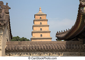 Giant Wild Goose Pagoda Big Wild Goose Pagoda, is a Buddhist...