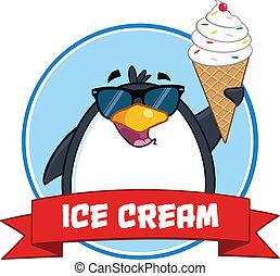 Penguin With Sunglasses