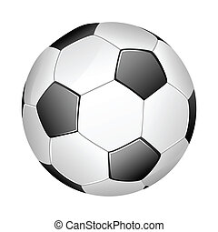 Soccer Ball - easy to edit vector illustration of soccer...