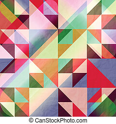 colorful delta - abstract colorful background with seamless...