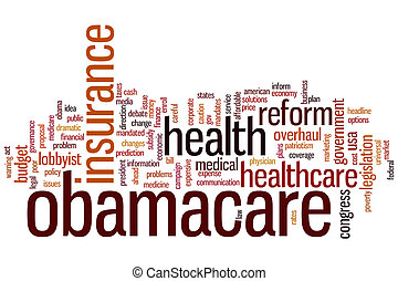 Obamacare word cloud - Obamacare concept word cloud...