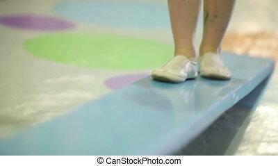 Gymnastic Exercises - Little baby is on board