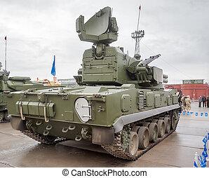 Antiaircraft gun missile system 2S6M1 Tunguska M1 - Nizhniy...