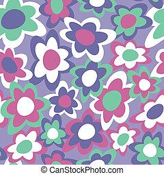 Funky Flowers Pattern