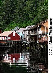 Creek Street - Famous Creek Street in Ketchikan, Alaska