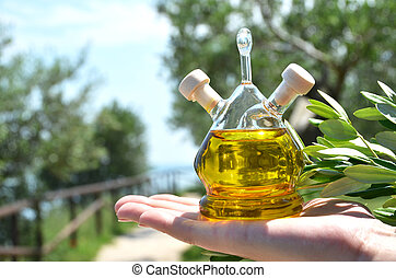 Olive oil Sirmione, Italy