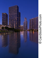 Brickell Apartments - Downtown Miami Financial District...