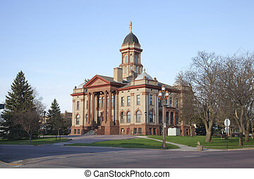 Cottonwood County Courthouse in Windom, Minnesota - The...