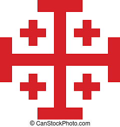 Cross of Order of the Holy Sepulchre - Cross of Knightly...