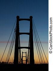 Suspension Bridge Towers