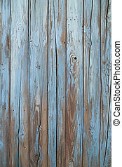 old blue wood wall texture and background