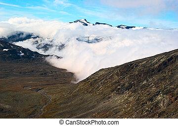 Galdhopiggen in Norway