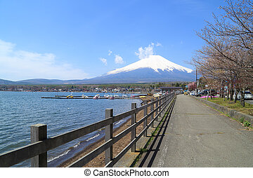 MtFuji at Lake Yamanaka, Japan - MtFuji at Lake Yamanaka,...
