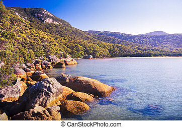 Wilsons Promontory, the most southerly point on the...