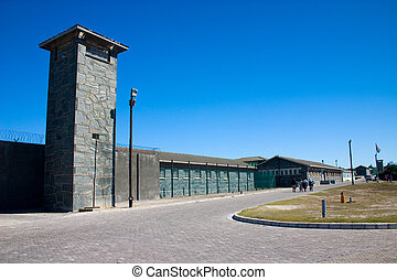 Robben Island Prison where Nelson Mandela was held captive