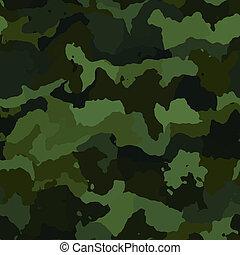 camuflagem, Padrão