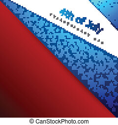 4th of july american independence day flag beautiful wave vector