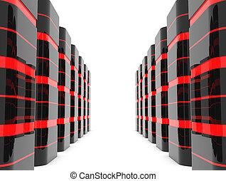 Server room or data center