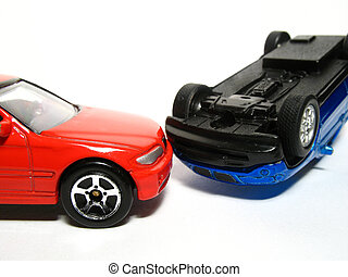 Toy car - Car accident